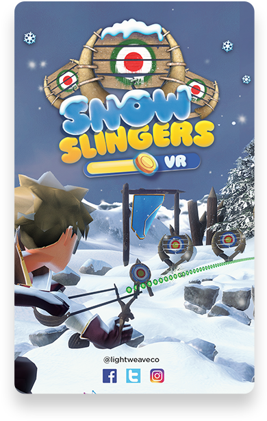 Snow Slinger | Lightweave Augmented Reality