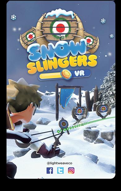 Snow Slinger | Lightweave Augmented Reality
