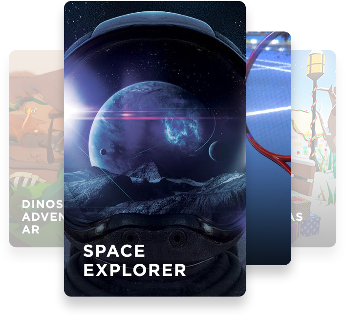 Space Explore   Lightweave Augmented Reality
